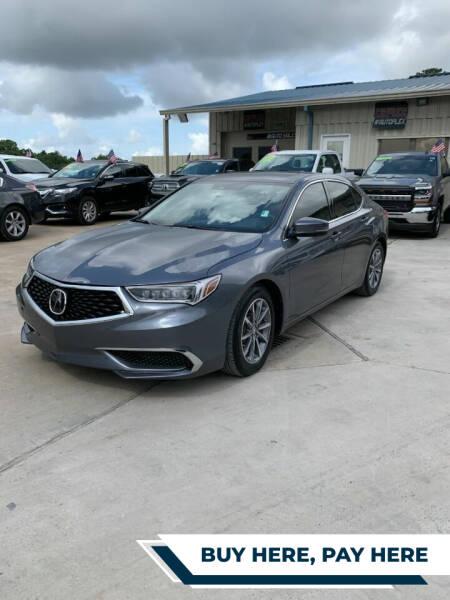 2020 Acura TLX for sale at GRG Auto Plex in Houston TX