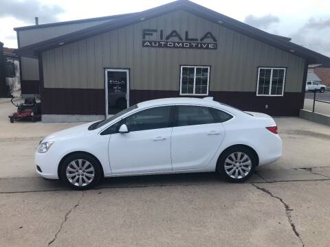 2017 Buick Verano for sale at Fiala Automotive in Howells NE