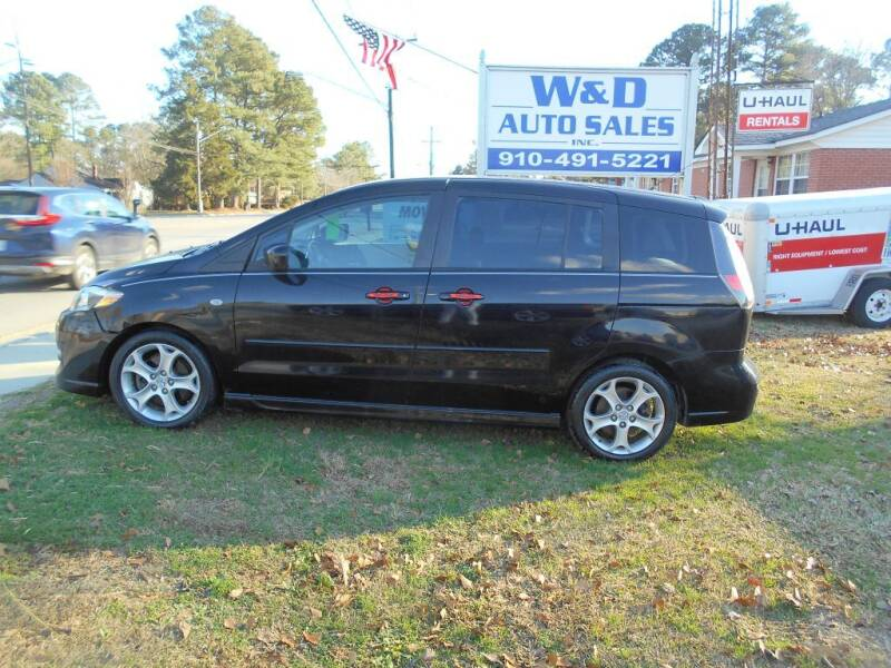 2009 Mazda MAZDA5 for sale at W & D Auto Sales in Fayetteville NC