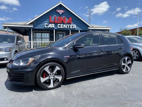 2015 Volkswagen Golf GTI for sale at LUNA CAR CENTER in San Antonio TX