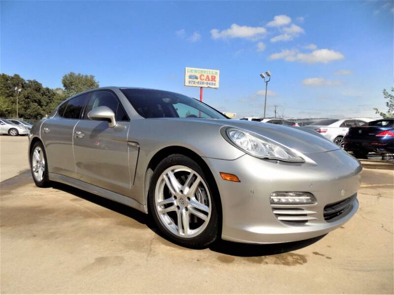 2012 Porsche Panamera for sale at Lewisville Car in Lewisville TX