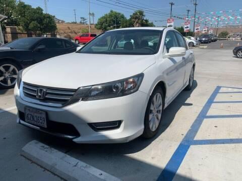 2013 Honda Accord for sale at Los Compadres Auto Sales in Riverside CA