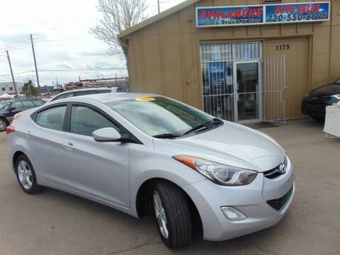 2012 Hyundai Elantra for sale at Avalanche Auto Sales in Denver CO