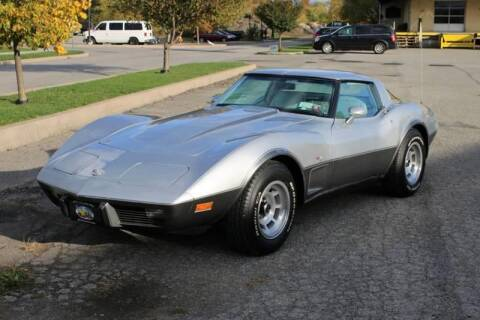 1978 Chevrolet Corvette for sale at Great Lakes Classic Cars & Detail Shop in Hilton NY