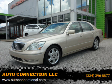2004 Lexus LS 430 for sale at AUTO CONNECTION LLC in Montgomery AL