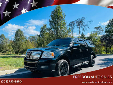 2006 Lincoln Mark LT for sale at Freedom Auto Sales in Chantilly VA