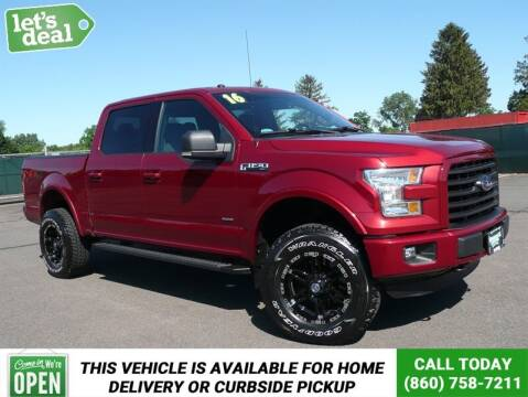 2016 Ford F-150 for sale at Shamrock Motors in East Windsor CT