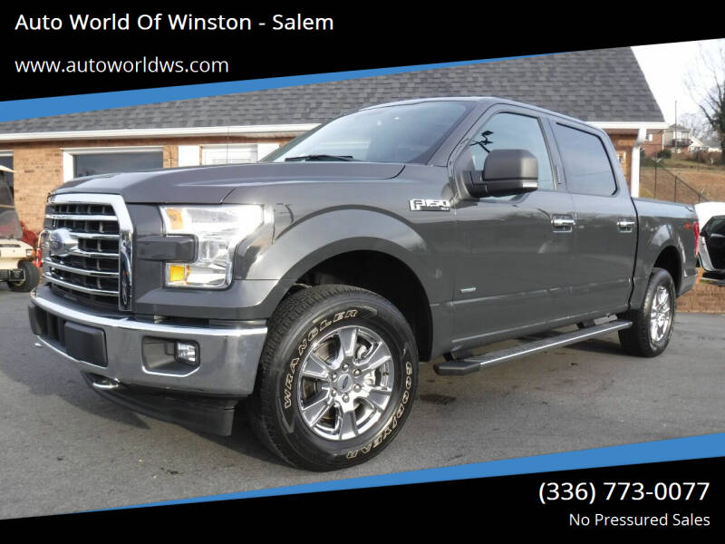 2017 Ford F-150 for sale at Auto World Of Winston - Salem in Winston Salem NC