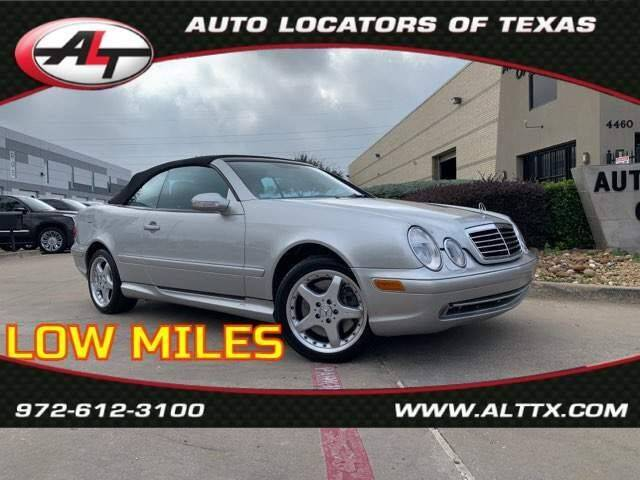 2002 Mercedes-Benz CLK for sale at AUTO LOCATORS OF TEXAS in Plano TX