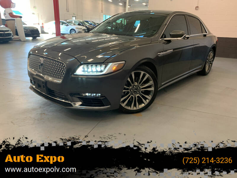 2017 Lincoln Continental for sale at Auto Expo in Las Vegas NV