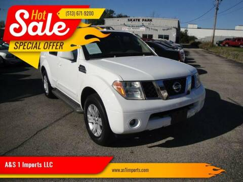 2006 Nissan Pathfinder for sale at A&S 1 Imports LLC in Cincinnati OH