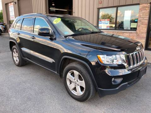 2012 Jeep Grand Cherokee for sale at 222 Newbury Motors in Peabody MA