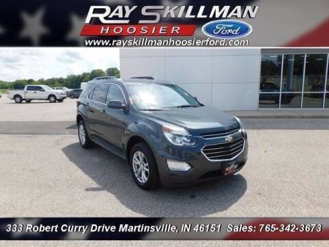 2017 Chevrolet Equinox for sale at Ray Skillman Hoosier Ford in Martinsville IN
