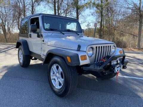 2006 Jeep Wrangler for sale at PM Auto Group LLC in Chantilly VA