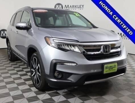 2021 Honda Pilot for sale at Markley Motors in Fort Collins CO