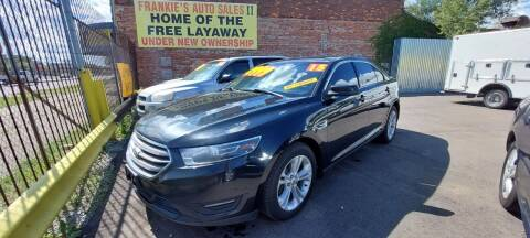 2015 Ford Taurus for sale at Frankies Auto Sales in Detroit MI