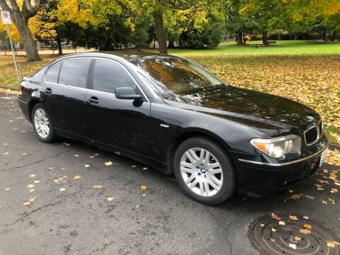 2002 BMW 7 Series for sale at Blue Line Auto Group in Portland OR