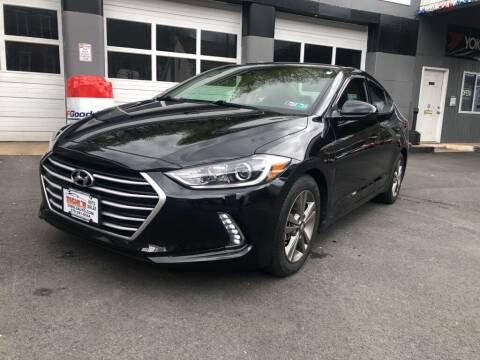 2017 Hyundai Elantra for sale at Diehl's Auto Sales in Pottsville PA