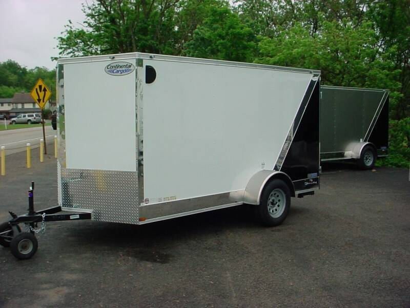 2022 Forest River 6.5X12 V-Nose Double  Doors for sale at S. A. Y. Trailers in Loyalhanna PA