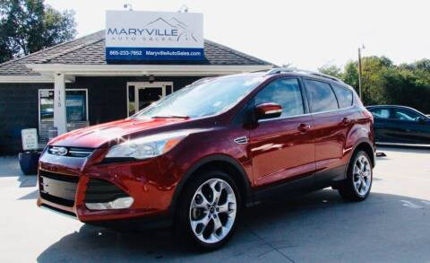 2015 Ford Escape for sale at Maryville Auto Sales in Maryville TN