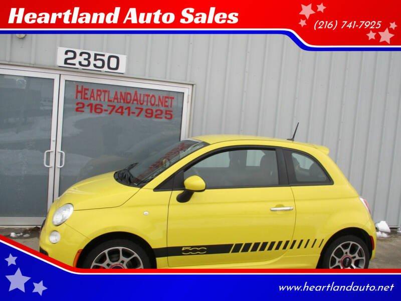 2012 FIAT 500 for sale at Heartland Auto Sales in Medina OH