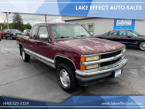 1994 Chevrolet C/K 1500 Series for sale at Lake Effect Auto Sales in Chardon OH