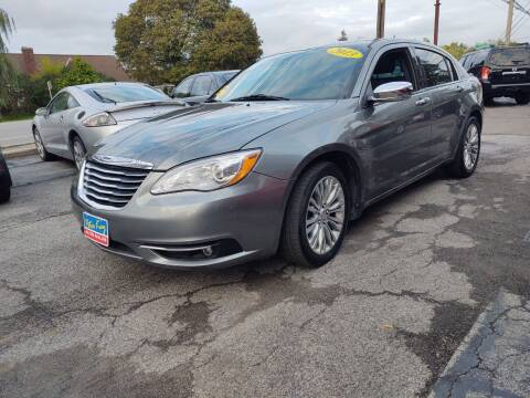 2013 Chrysler 200 for sale at Peter Kay Auto Sales in Alden NY