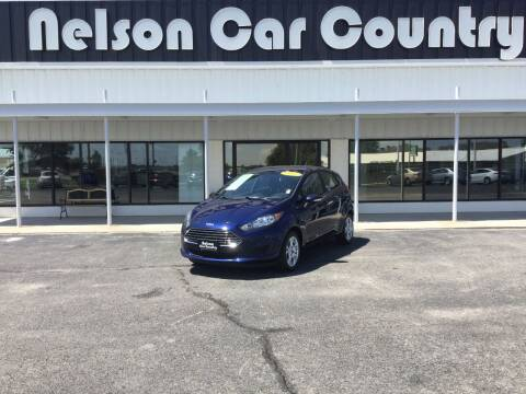 2016 Ford Fiesta for sale at Nelson Car Country in Bixby OK