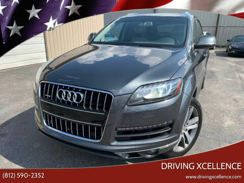 2014 Audi Q7 for sale at Driving Xcellence in Jeffersonville IN