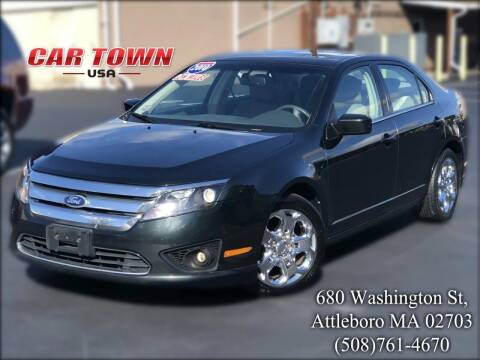 2010 Ford Fusion for sale at Car Town USA in Attleboro MA