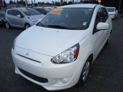 2015 Mitsubishi Mirage for sale at GMA Of Everett in Everett WA