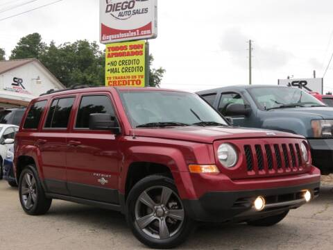 2013 Jeep Patriot for sale at Diego Auto Sales #1 in Gainesville GA