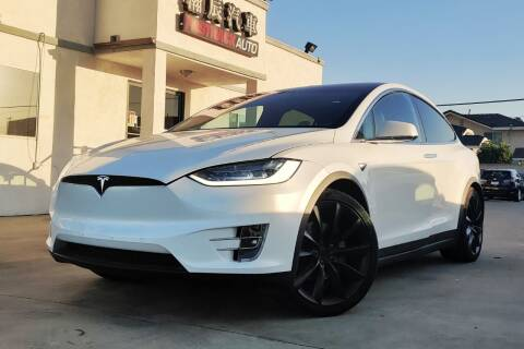 2019 Tesla Model X for sale at Fastrack Auto Inc in Rosemead CA