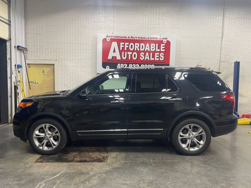 2013 Ford Explorer for sale at Affordable Auto Sales in Humphrey NE