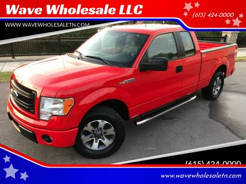 2014 Ford F-150 for sale at Wave Wholesale LLC in Gallatin TN