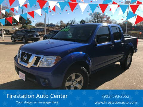 2013 Nissan Frontier for sale at Firestation Auto Center in Tyler TX