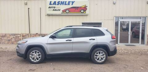 2017 Jeep Cherokee for sale at Lashley Auto Sales in Mitchell NE