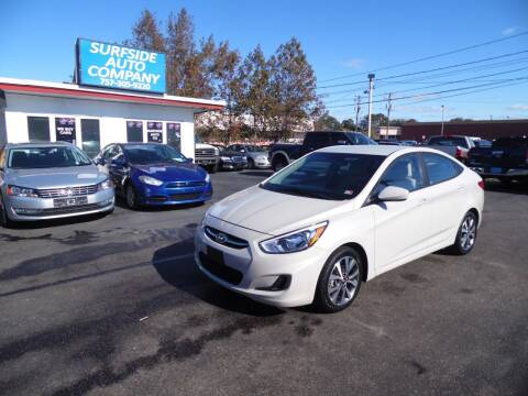 2017 Hyundai Accent for sale at Surfside Auto Company in Norfolk VA