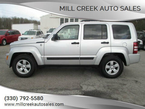 2010 Jeep Liberty for sale at Mill Creek Auto Sales in Youngstown OH