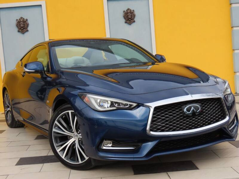 2017 Infiniti Q60 for sale at Paradise Motor Sports LLC in Lexington KY