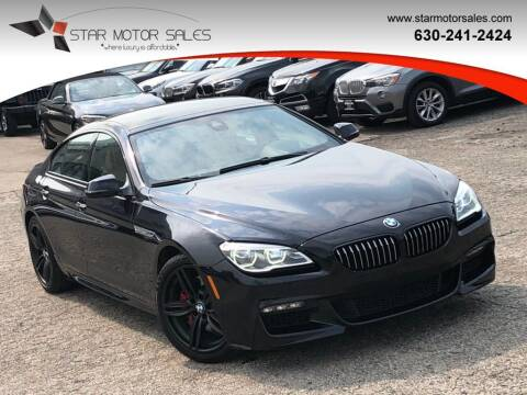 2016 BMW 6 Series for sale at Star Motor Sales in Downers Grove IL