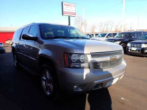 2008 Chevrolet Suburban for sale at Marty's Auto Sales in Savage MN