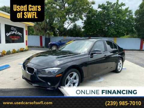 2015 BMW 3 Series for sale at Used Cars of SWFL in Fort Myers FL