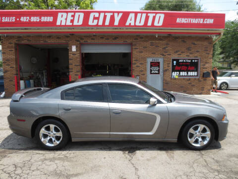 2012 Dodge Charger for sale at Red City  Auto in Omaha NE