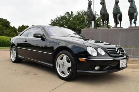 2002 Mercedes-Benz CL-Class for sale at European Motor Cars LTD in Fort Worth TX