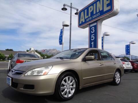 2006 Honda Accord for sale at Alpine Auto Sales in Salt Lake City UT