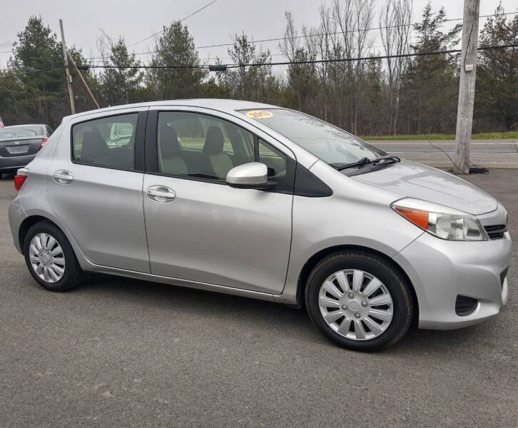 2013 Toyota Yaris for sale at GREENPORT AUTO in Hudson NY