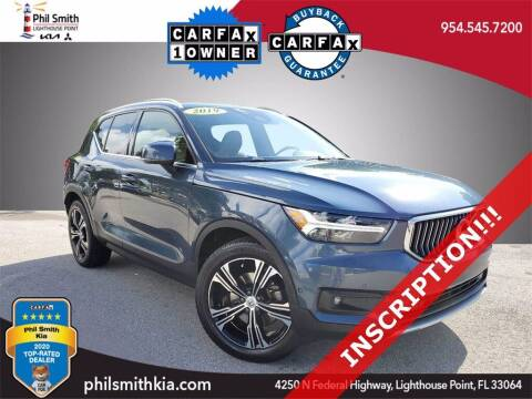 2019 Volvo XC40 for sale at PHIL SMITH AUTOMOTIVE GROUP - Phil Smith Kia in Lighthouse Point FL