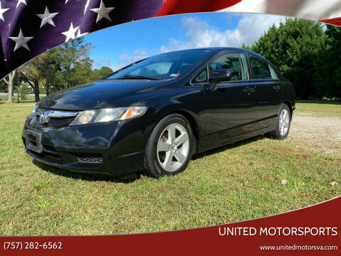 2011 Honda Civic for sale at United Motorsports in Virginia Beach VA