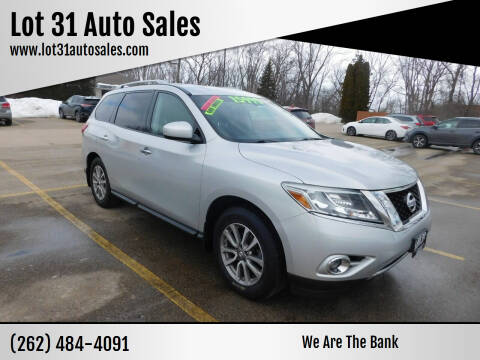 2014 Nissan Pathfinder for sale at Lot 31 Auto Sales in Kenosha WI
